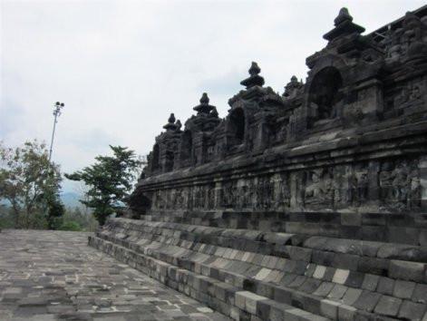 印尼,日惹,婆罗浮屠佛塔