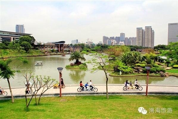 南海桂城乌隆涌公园