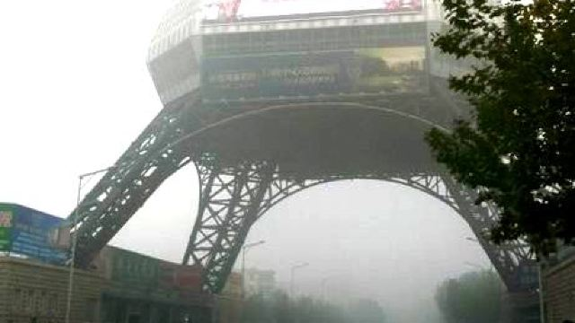 泰州电视塔号称全国第一个跨街电视塔