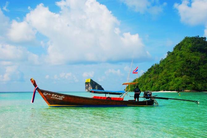 泰国,七色的海(甲米-pp岛-普吉岛)