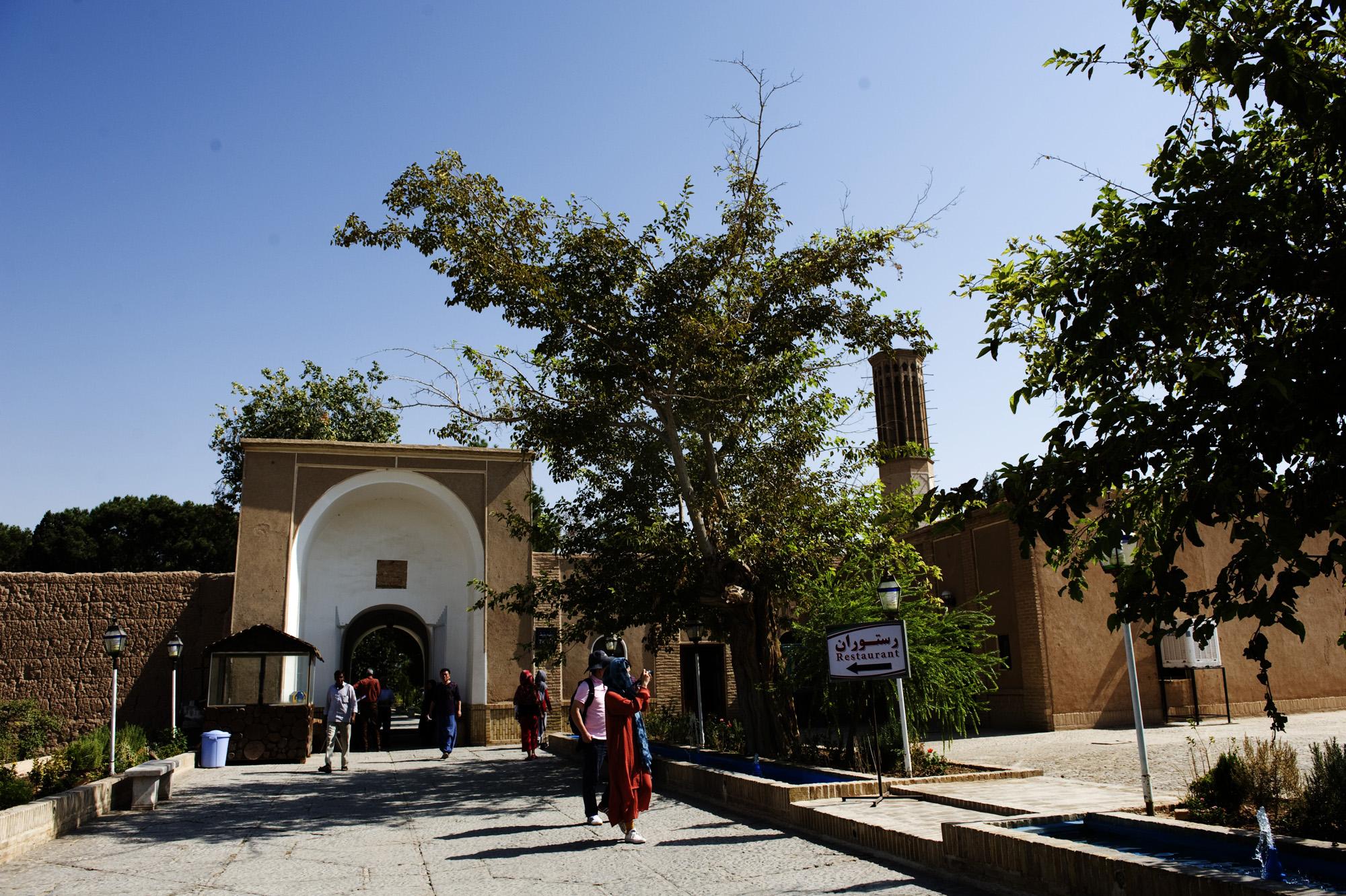 豆拉塔巴特花園  Dowlat Abad Garden   -2