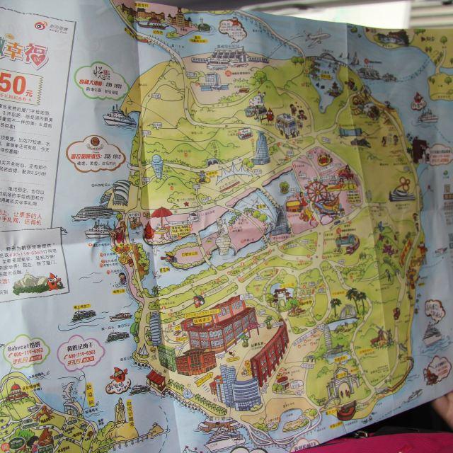 就有免费的手绘地图可