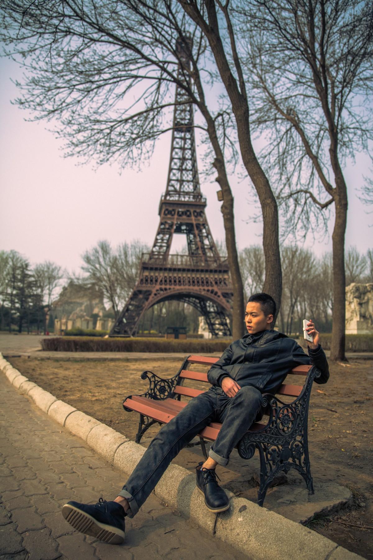 世界公园巴黎铁塔微缩景观