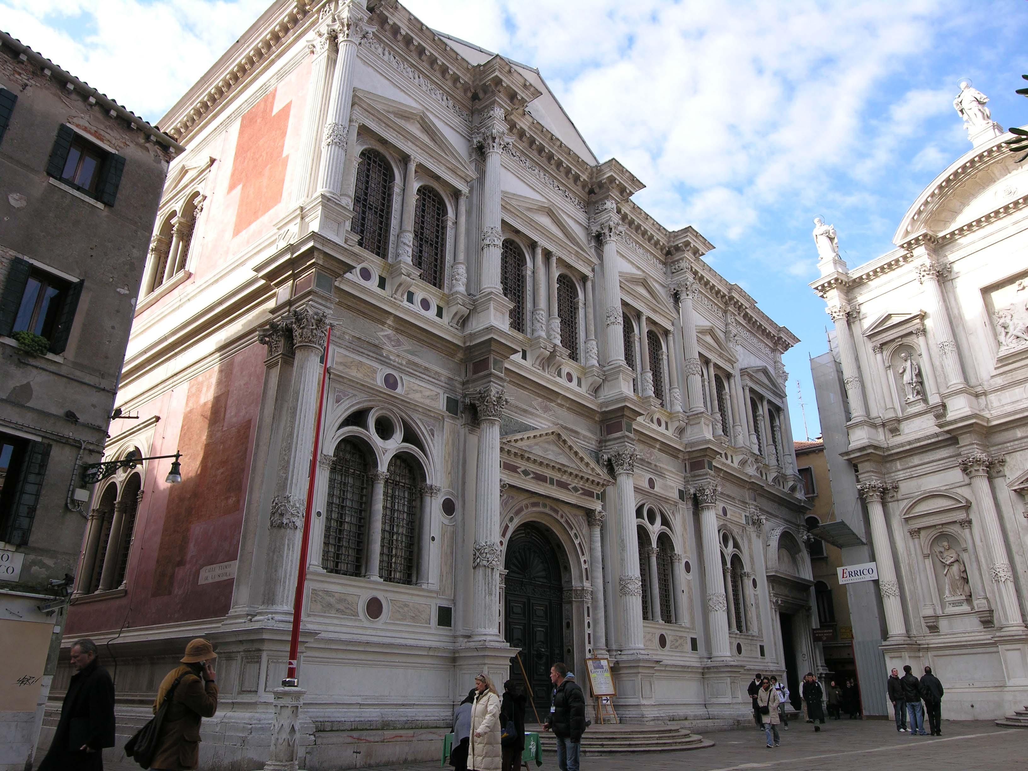 圣洛可大会堂  Scuola Grande di San Rocco   -1