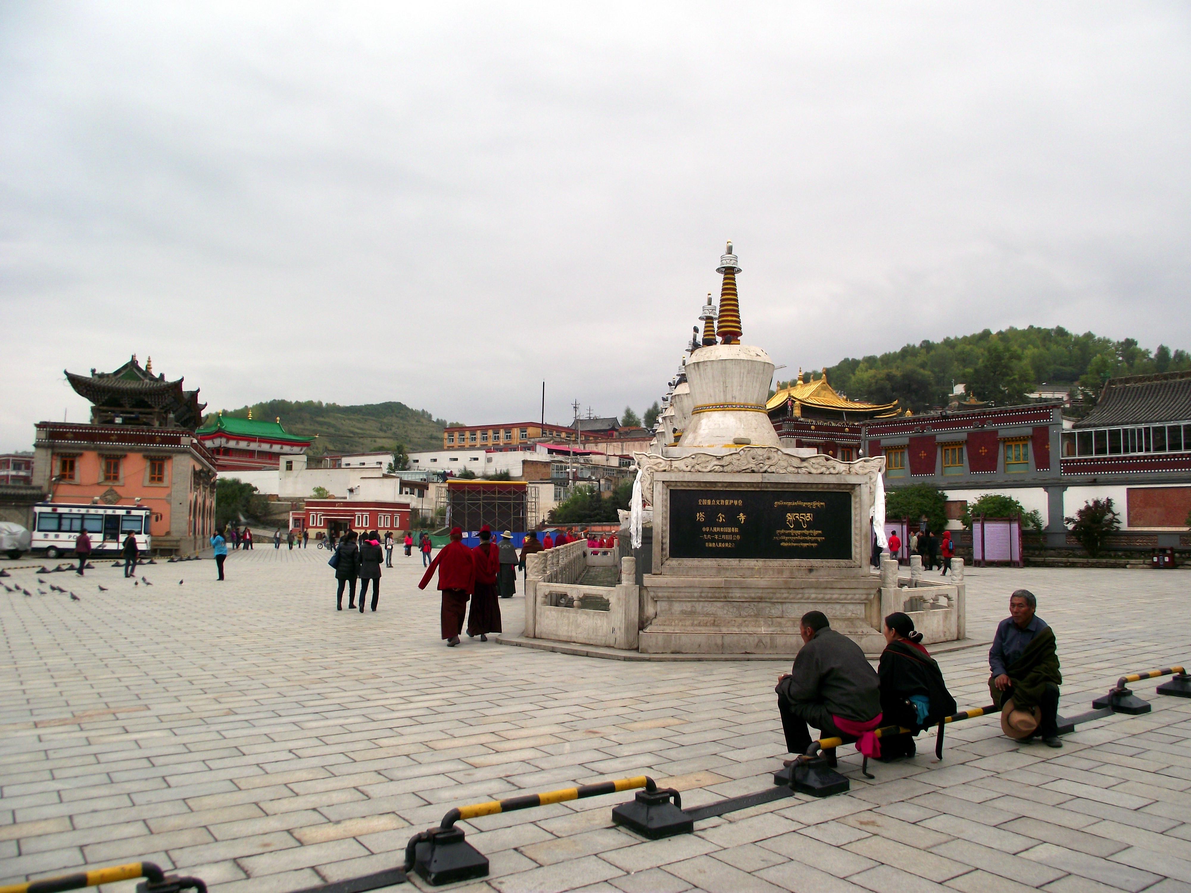 青海西宁甘肃张掖深度游 7天游塔尔寺,茶卡盐湖,祁连山雪峰等大小景