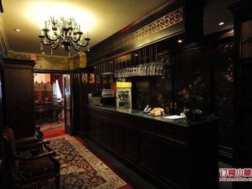 欧式反古餐馆装修图片