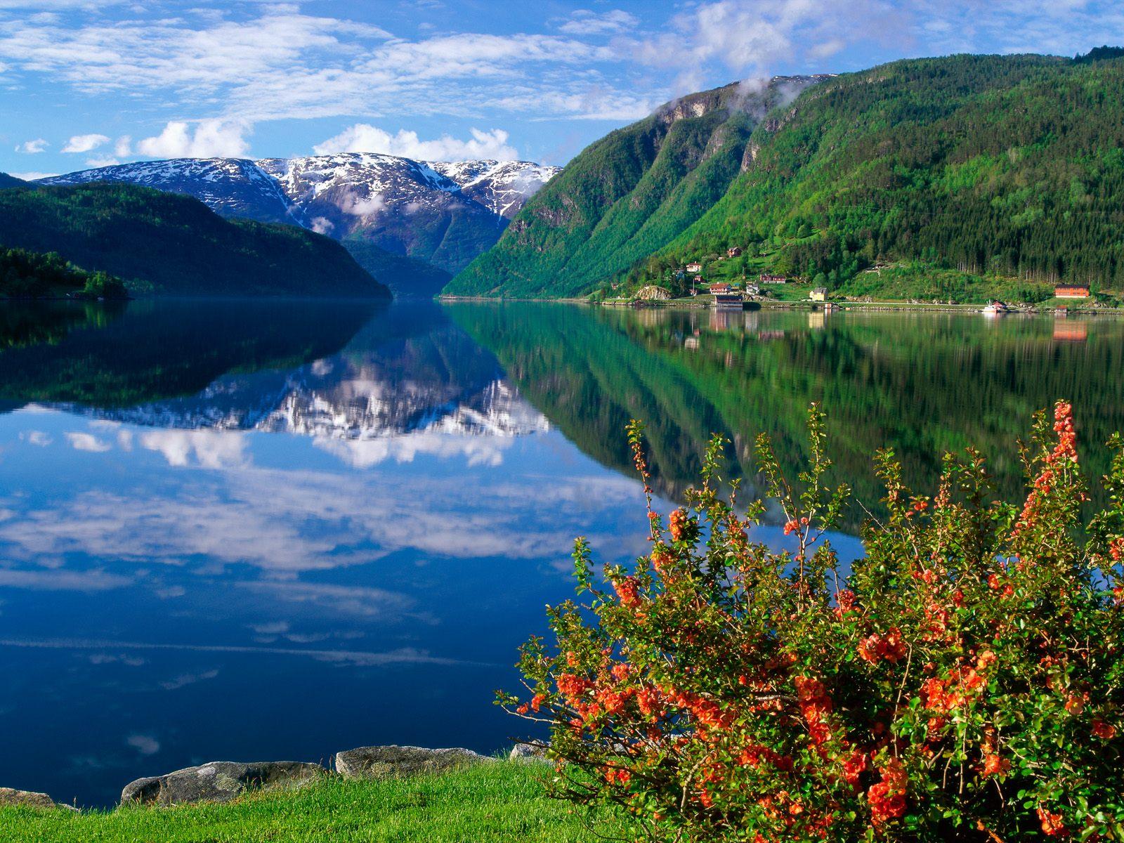 哈當厄爾峽灣  Hardanger Fjord   -0