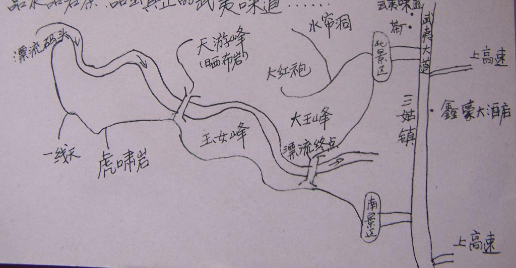 武夷山两日旅游攻略 含手绘地图与自助游小贴士 - 山