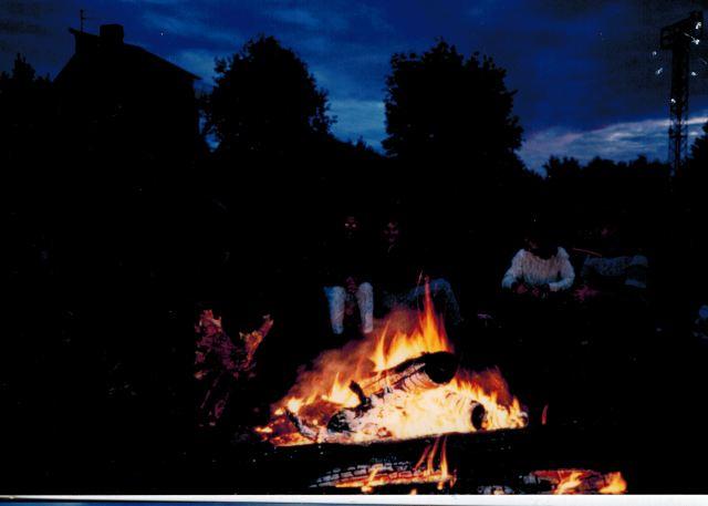 加森林篝火晚会