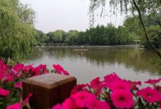 茱萸湾风景区-扬州-一雨一彩虹