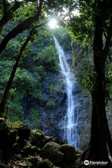 法卢迈瀑布群-大溪地