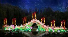 中山公园新春花灯展-银川-AIian