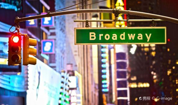 <p>百老汇大道是纽约市重要的一条南北向道路,因聚集着众多歌剧院而为游客熟知。百老汇最热闹、人流最为密集的地方便是与时代广场的交汇处,每天这里的剧院都会上映经典歌剧《歌剧魅影》、《狮子王》、《坏女巫》等。</p><p>纽约的街道除了下城区外都是横平竖直,只有百老汇大道歪歪斜斜的从曼哈顿下城区东南的河边码头,穿过繁华的闹市和安静的住宅,通过摩天大厦和夹道林荫,直达西北纽约州广袤的腹地。</p><p><strong>参观指南:</strong></p><p>想要好好逛逛这条大道可以时代广场为中心,大道的最南端是巴特里公园,里面有着著名的克林顿堡,从这里开始就进入了百老汇大道。在百老汇大道的街口有着代表纽约金融业的华尔街铜牛,过了铜牛一路会经过联邦大厦、纽约市政厅和唐人街。时代广场向北则是哥伦布圆环,这里进去就是中央公园,穿过富人聚集的上西区就能到达林肯艺术表演中心。</p>