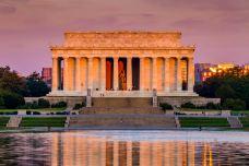 林肯纪念堂-华盛顿-尊敬的会员