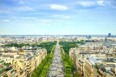 香榭丽舍大街-巴黎-尊敬的会员