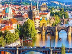 9日布拉格+卡罗维发利·打卡网红小镇+游船观光多瑙河