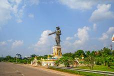 湄公河边公园-万象-doris圈圈