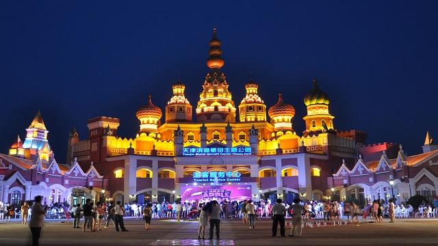 天津市區+泰達航母主題公園+北塘古鎮+包車二日遊(無購物/不限里程)