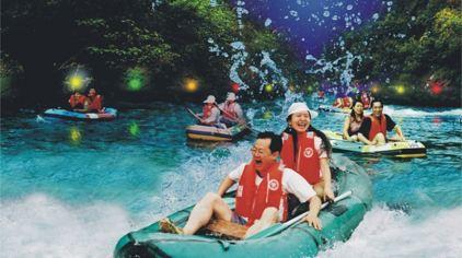 绿林山-鸳鸯溪漂流5