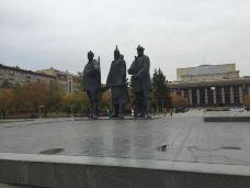 Mikhail Zuyev Statue-新西伯利亚-任泽斌