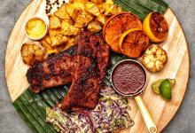关岛美食图片-烤猪肋排