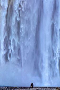 森林瀑布-冰岛南部区-doris圈圈
