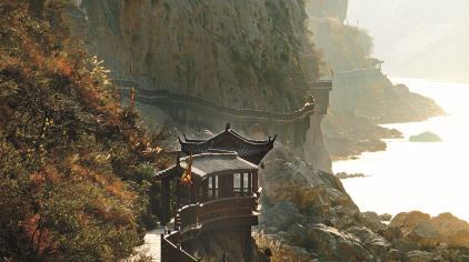 明月峡-摄影刘仁