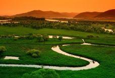 雁鸣湖国家级自然保护区-敦化-一个大橙子