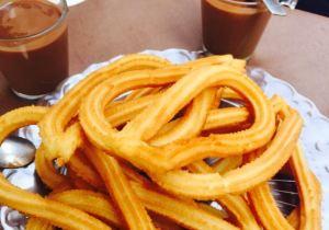 【携程美食林】马德里热巧克力油条哪里吃,马