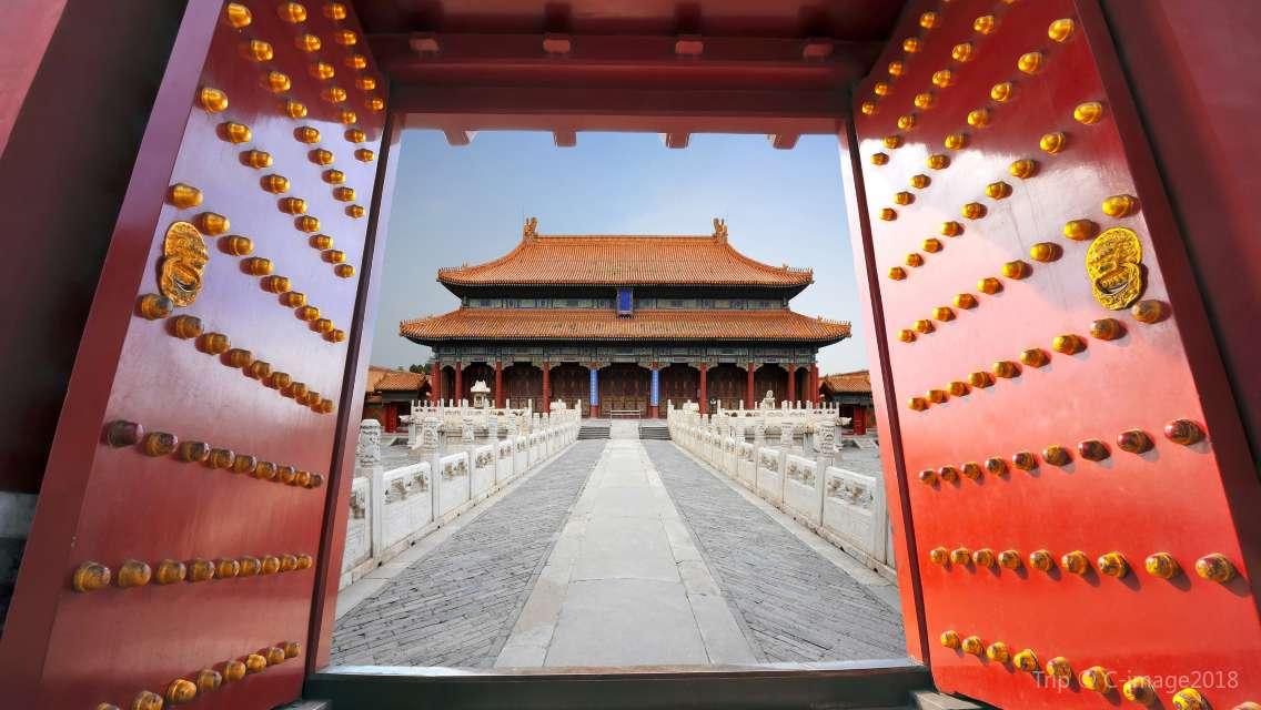 【売り切れ続出!】【要事前予約】北京 故宮博物院(紫禁城)チケット