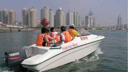 五四广场游船4
