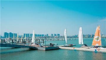 厦门五缘湾游海帆船俱乐部出海体验 (11)