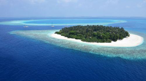 马尔代夫库达班多士岛6日4晚自由行(4钻)·『限时特价·体验一岛一酒店·2017全新开业』4晚岛上+含早晚餐&上岛接送+浮潜优质+岛上活动丰富+可优惠升级全餐