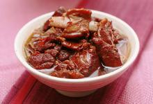 南通美食图片-红烧山羊肉