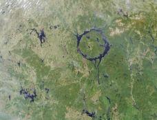曼尼古根陨石坑-魁北克省-M25****7169