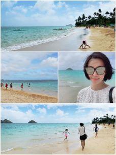 拉尼凯海滩-欧胡岛-雪3飞who