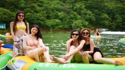 绿林山-鸳鸯溪漂流2