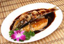 杭州美食图片-西湖醋鱼