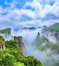 仙居游记图文-若你向往诗画里的山水,那便来浙江台州领略那山与水和海相融的风情吧!