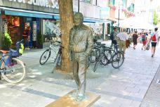 Siegfried Sommer Statue-慕尼黑-doris圈圈
