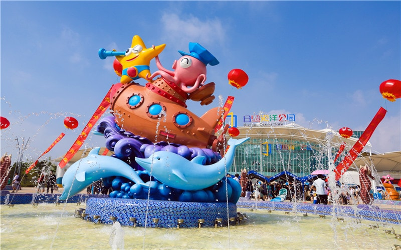 Rizhao Ocean Park Admission Ticket