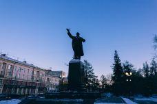 列宁纪念碑-海参崴-doris圈圈