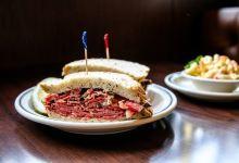 洛杉矶市美食图片-三明治