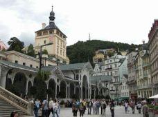 市场温泉回廊-卡罗维发利-享旅世界