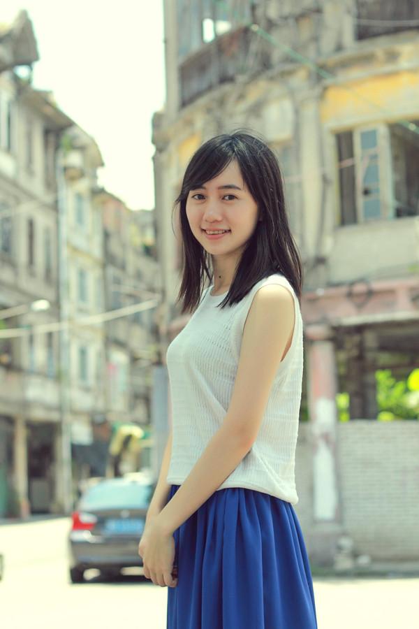 潮汕女人_忍不住给漂亮的同学多拍了几张照.温柔的潮汕姑娘.