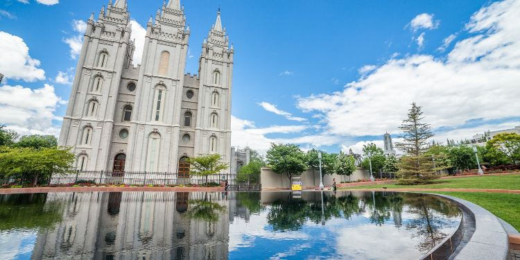 盐湖城图片