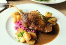 布拉格美食图片-捷克烤鸭