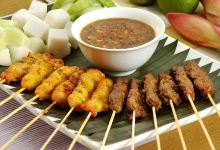 巴厘岛美食图片-沙爹