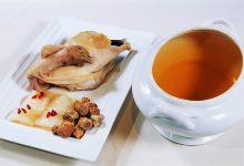 泸沽湖美食图片-松茸炖土鸡