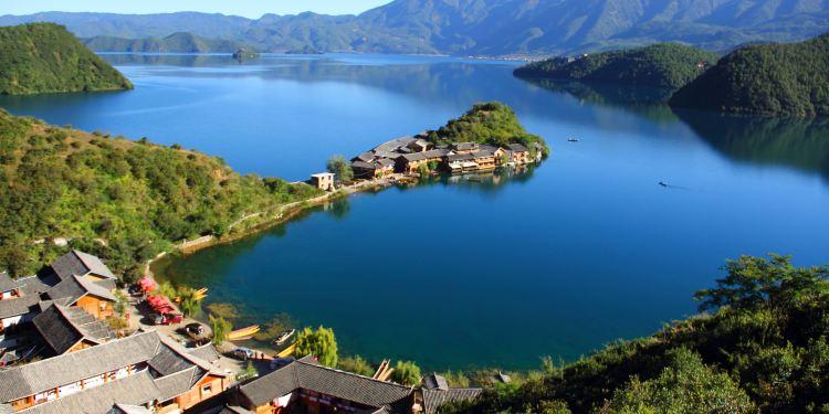 泸沽湖图片